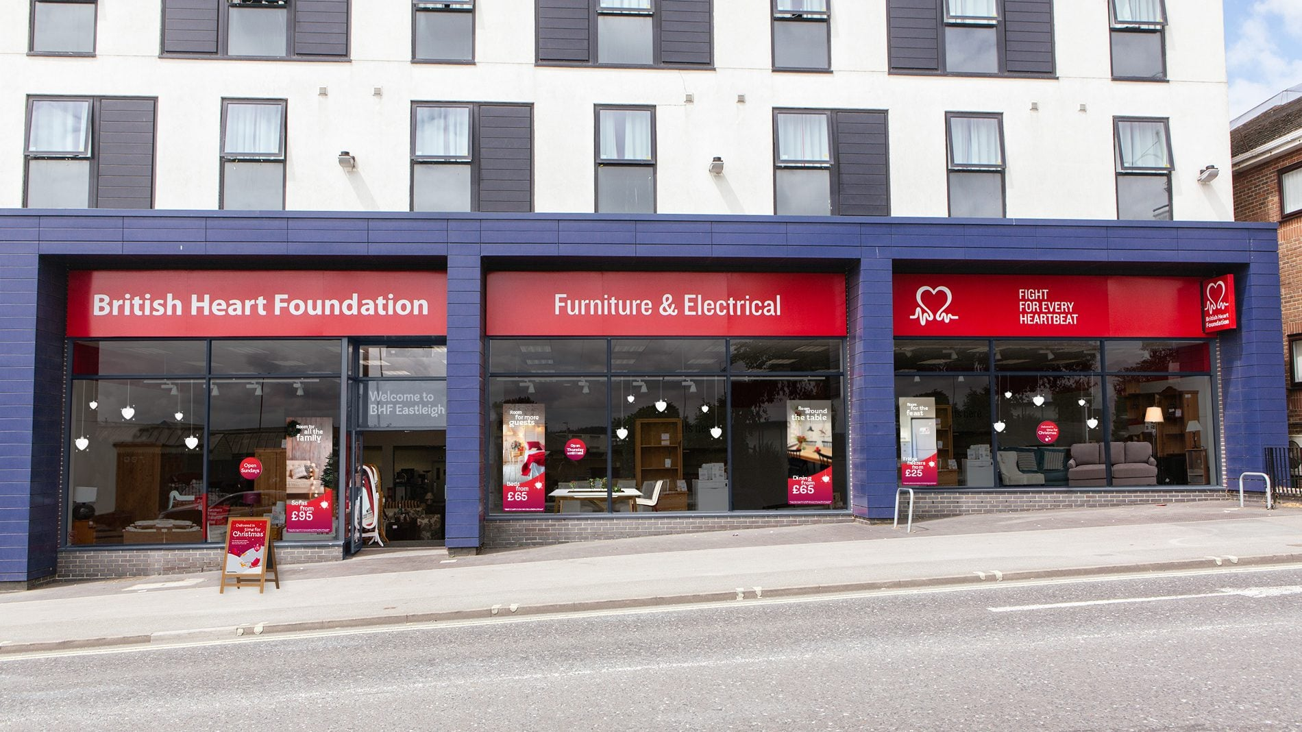store from of british heart foundation electrical store