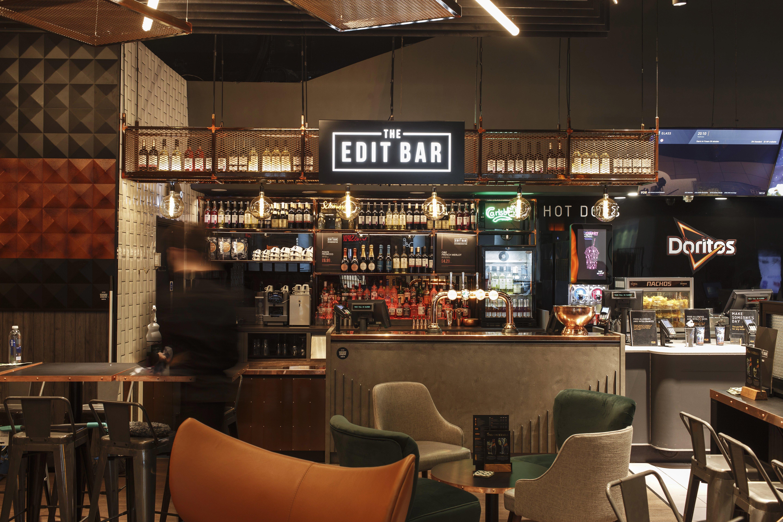 beyond london The Edit Bar Vue retail design