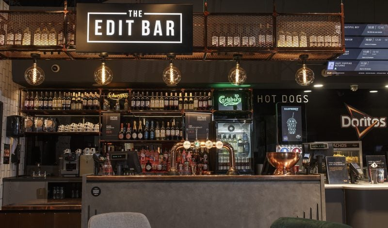 beyond london The Edit Bar Vue retail design F&B