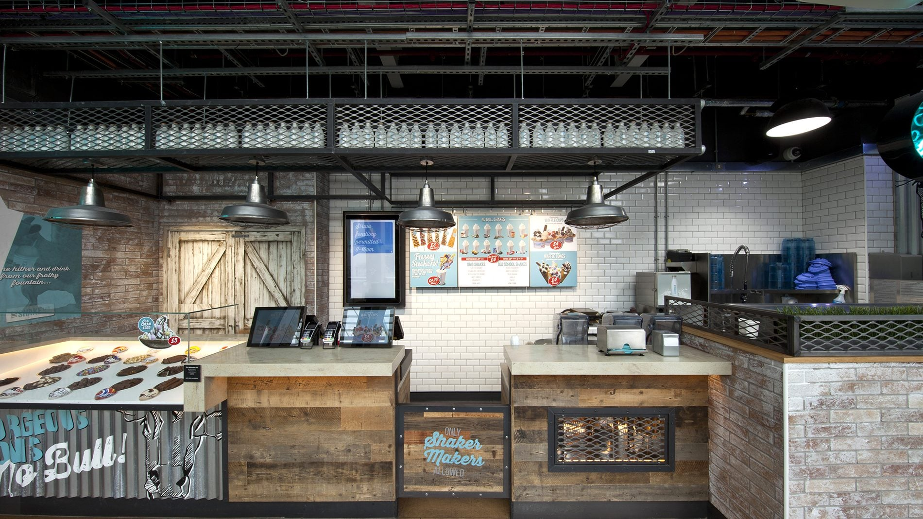 beyond london The Shake Lab retail design branding F&B