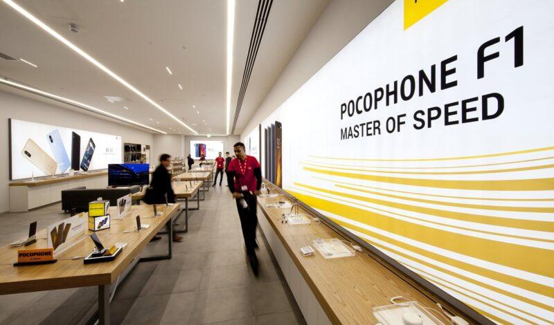 beyond london Xiaomi Mi store retail design
