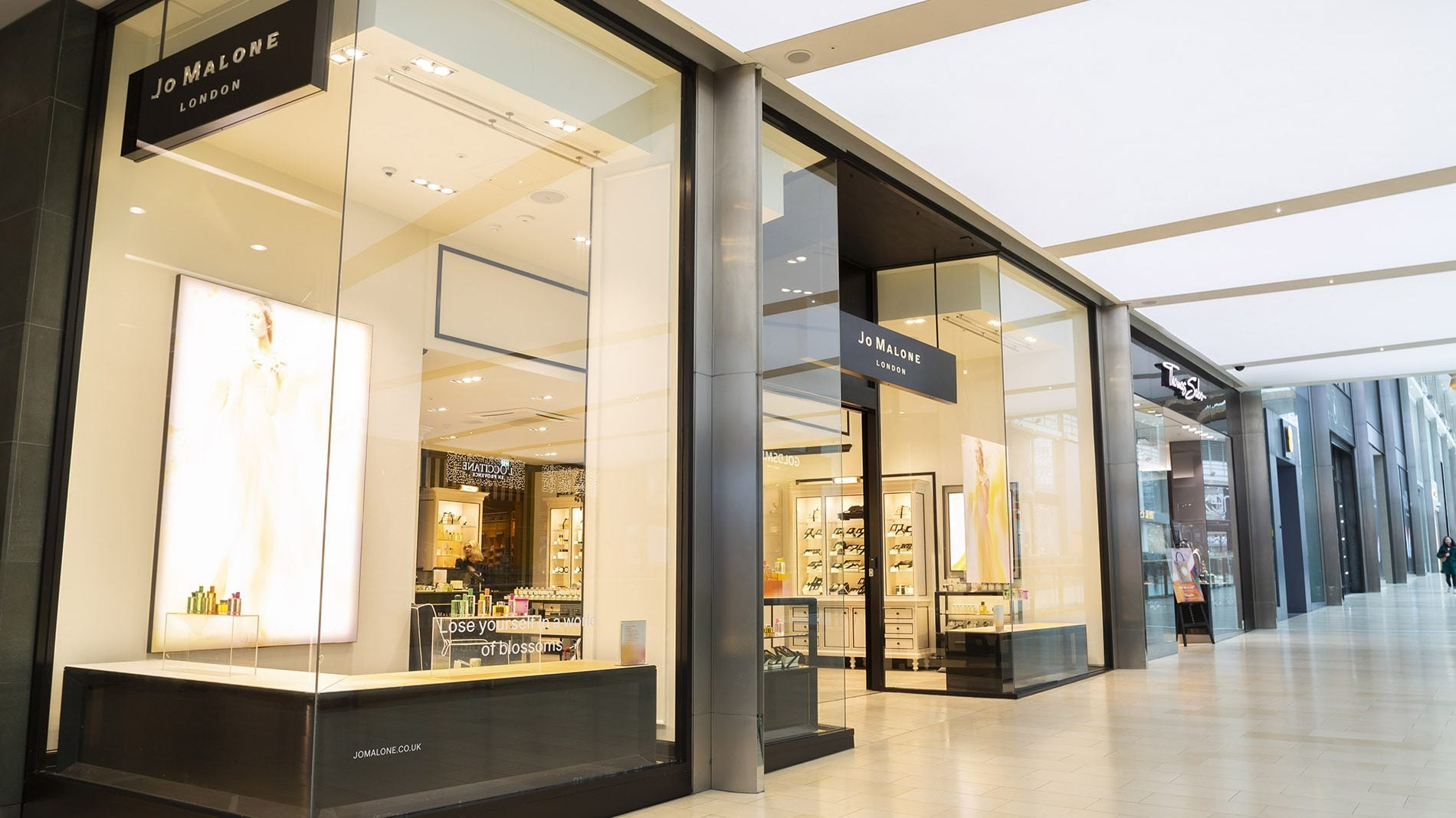Highcross Jo Malone Retail Design Management Beyond London