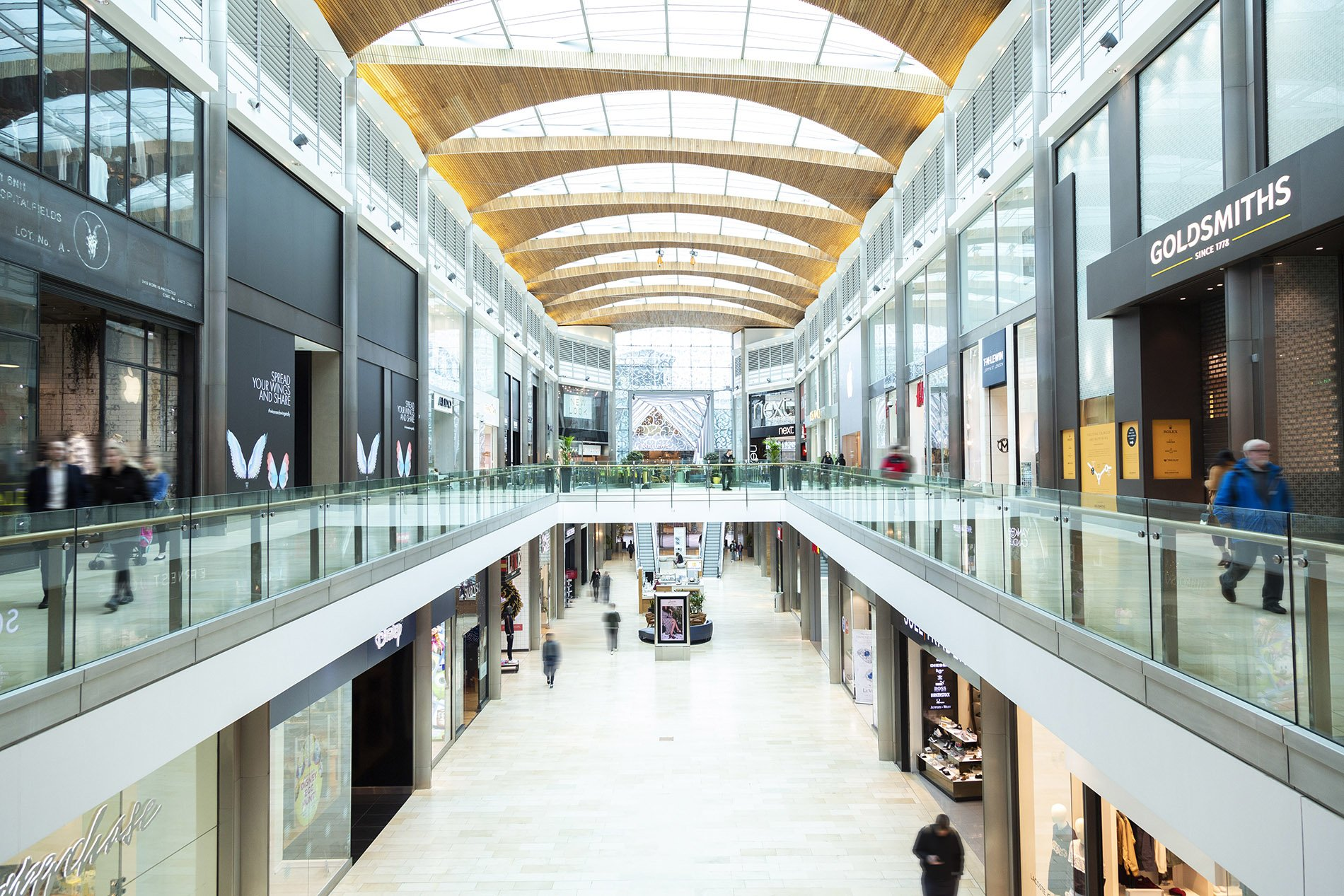 Highcross Retail Design Management Beyond London