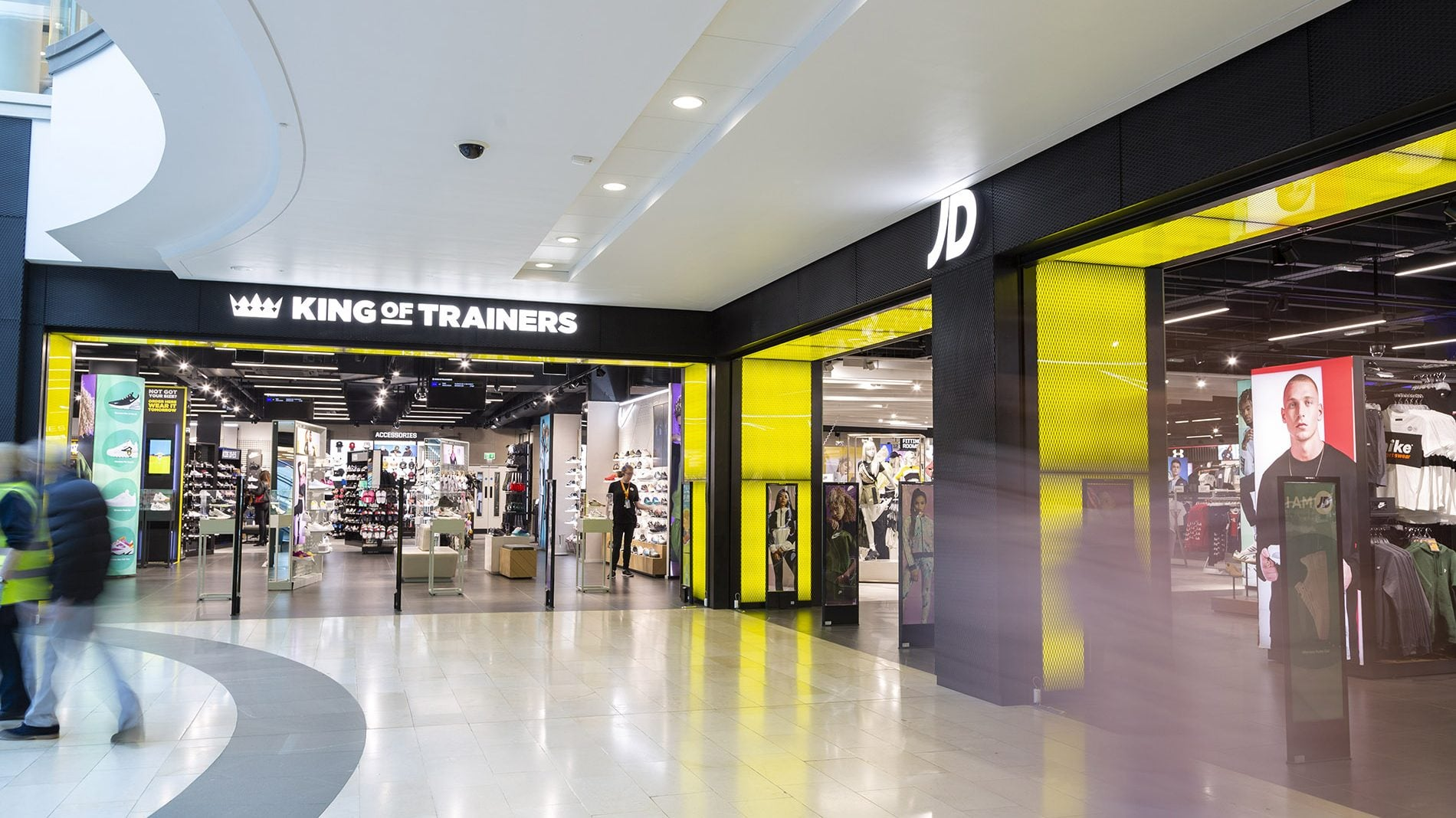 Highcross JD Sports Retail Design Management Beyond London