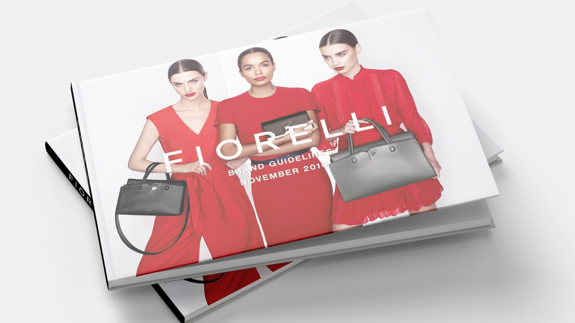 cover of the fiorelli brand guidelines