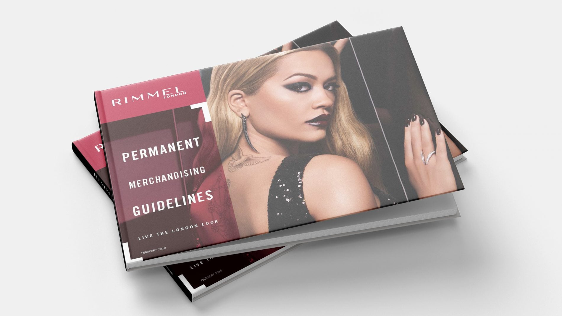 cover of rimmel merchandising guidelines