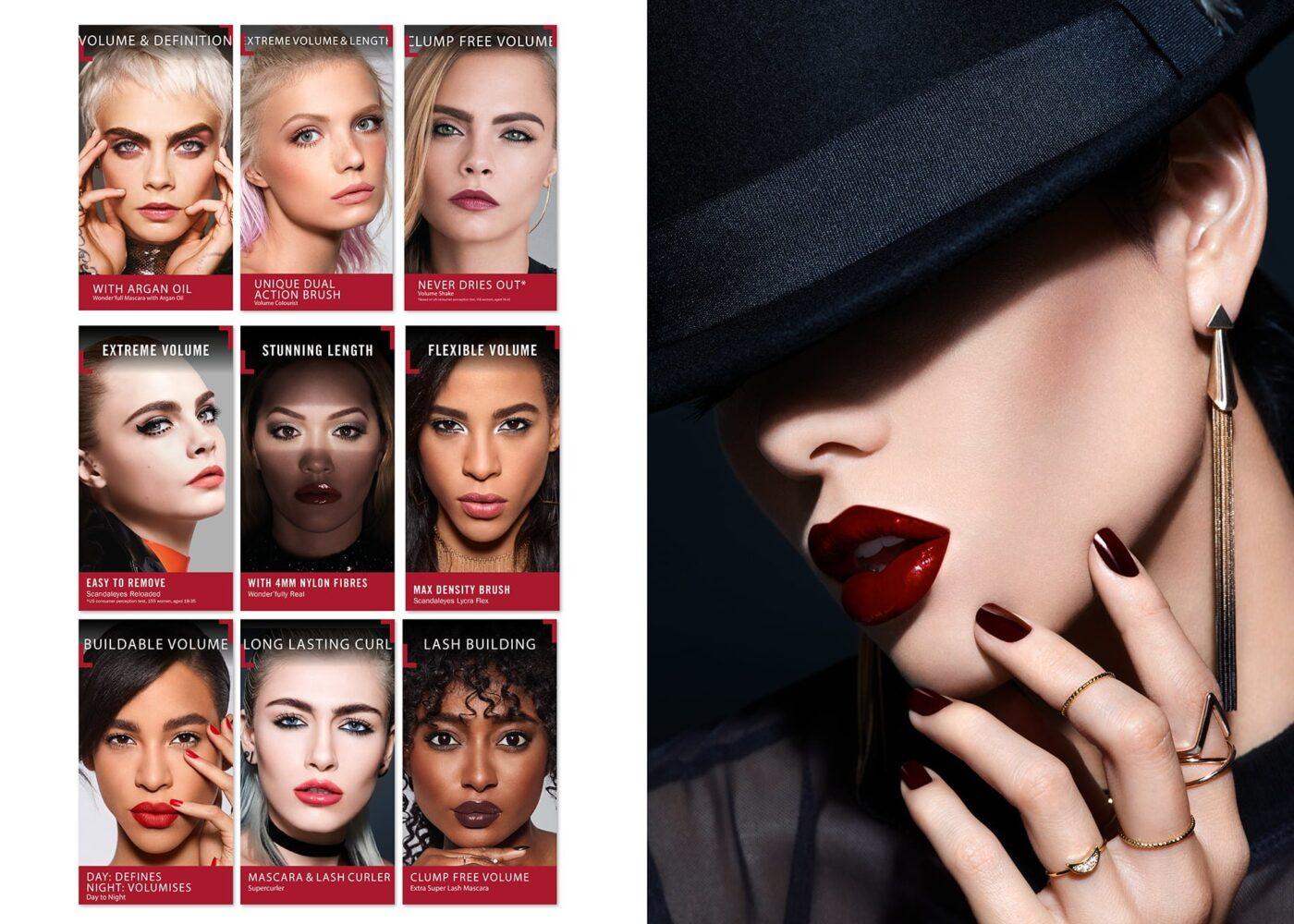 POS for rimmel london lipstick range