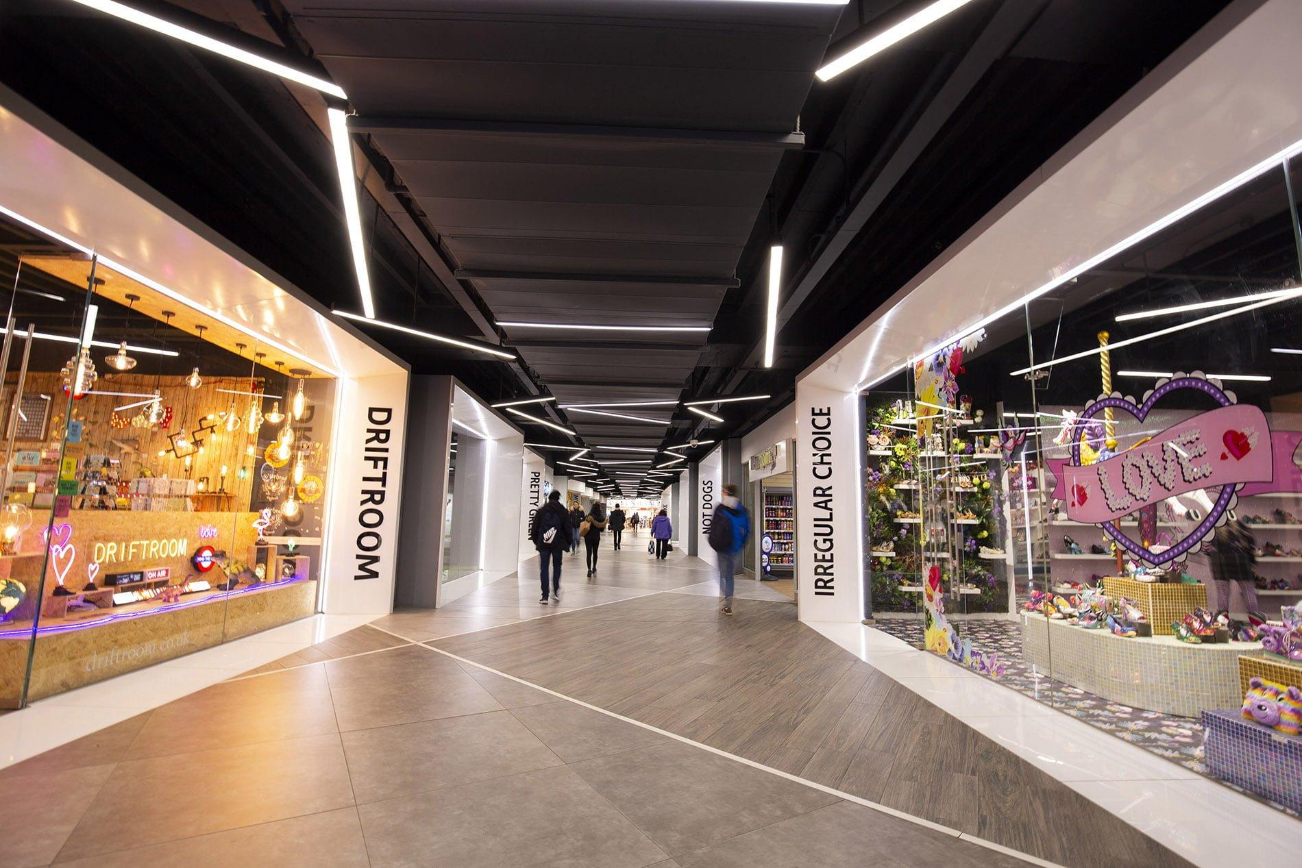 beyond london Link Street shopping centre asset enhancement
