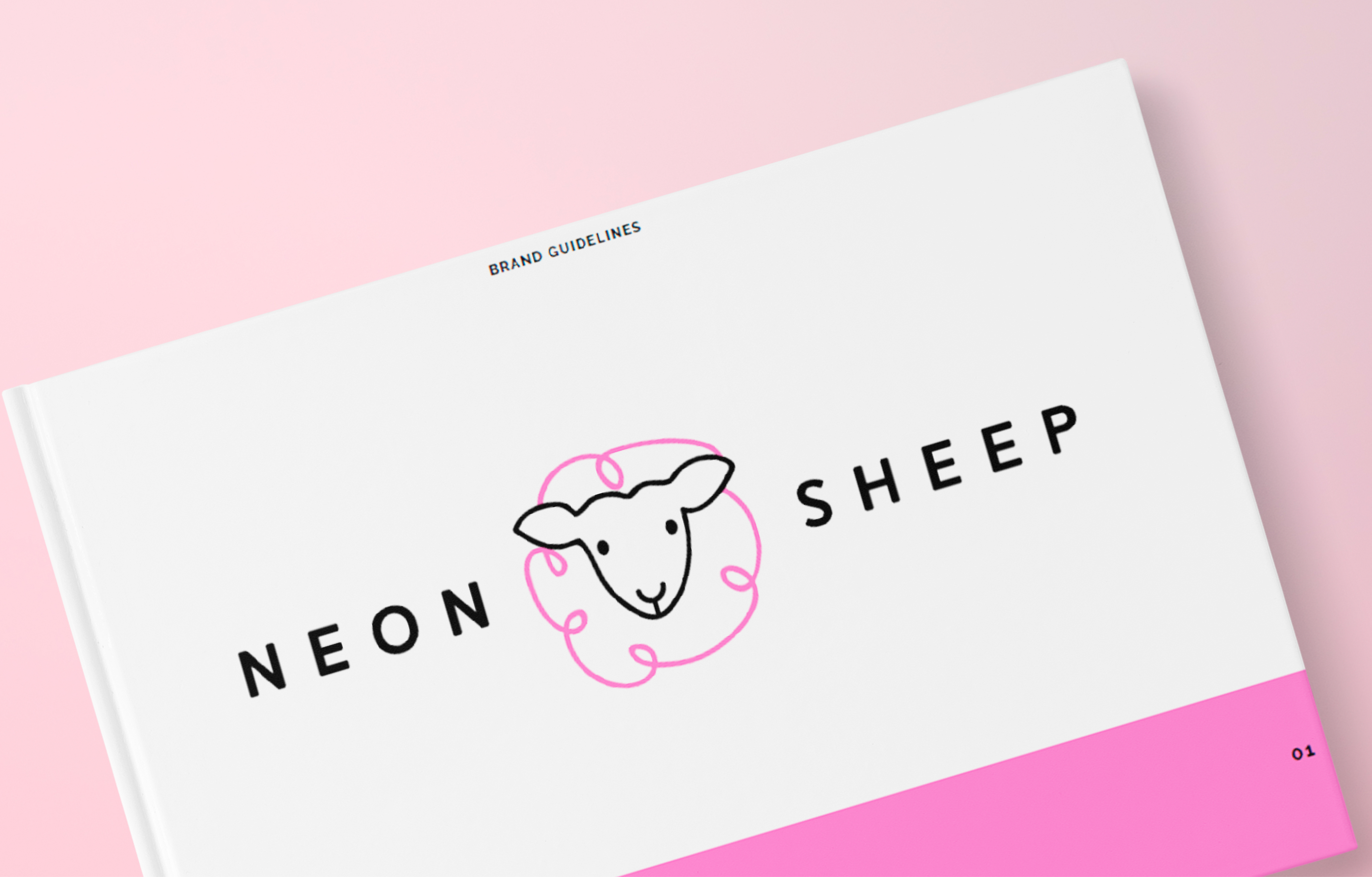 Neon Sheep Brand guidelines cover