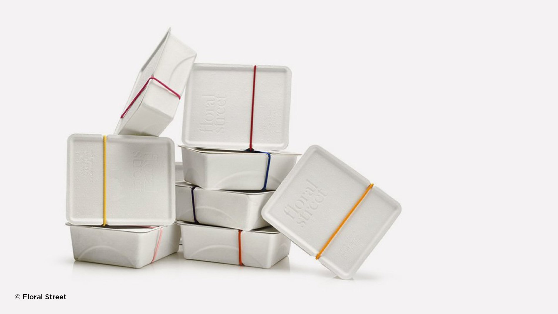 Floral Street's sustainable and biodegradable packaging