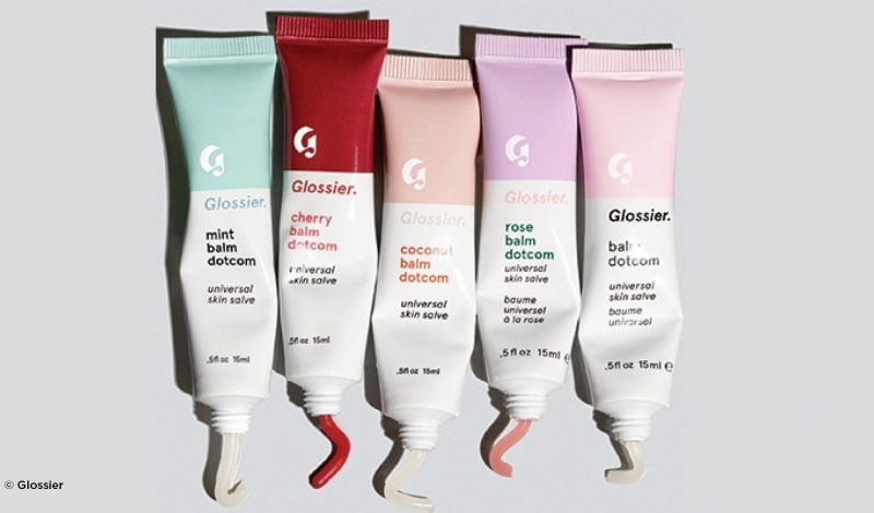 Disruptive beauty brands like glossier shaking up the market with its balm dotcom
