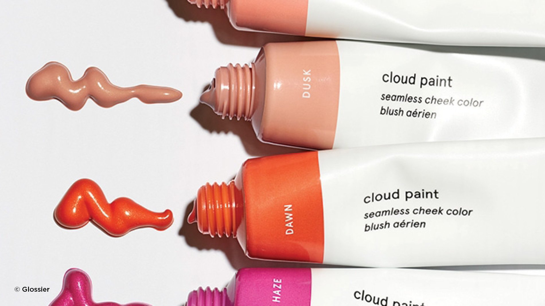 Disruptive beauty brands like glossier shaking up the market with its cloud paint makeup