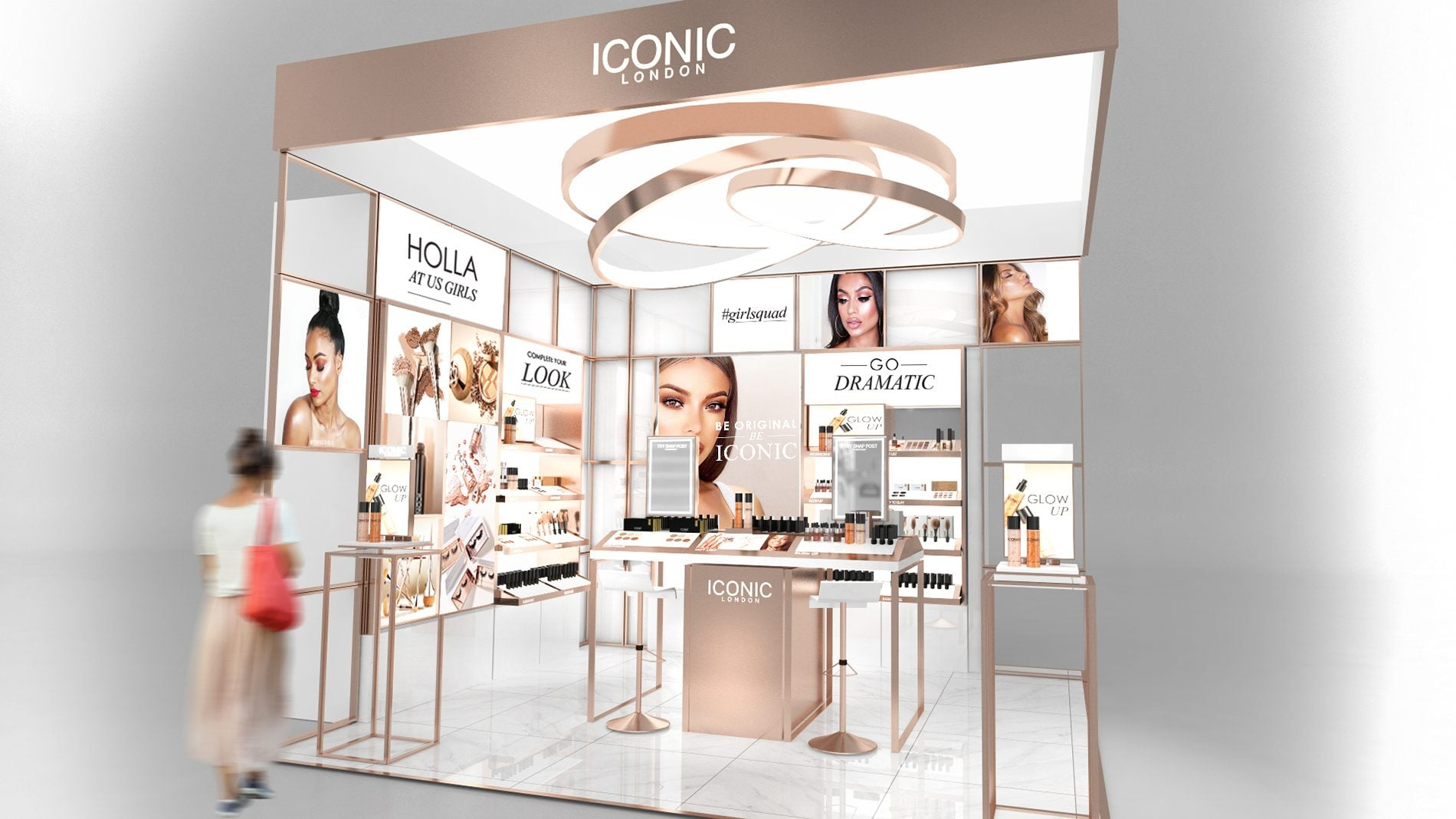 iconic london retail design concept visuals