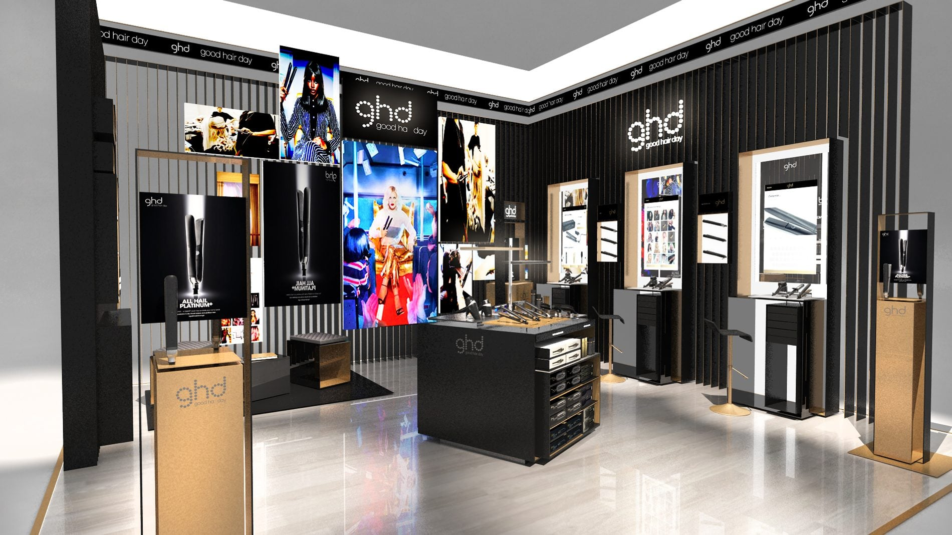 GHD retail design visual