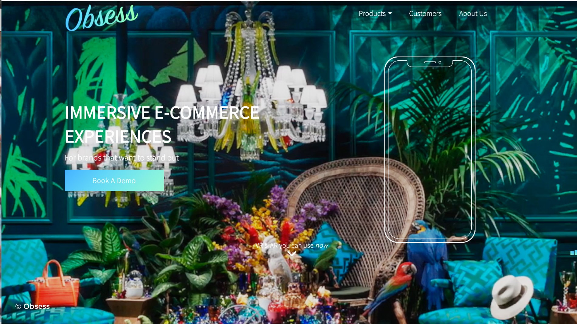 disruptive brand Obsess fighting the backlash on bland e-commerce with VR and AR stores