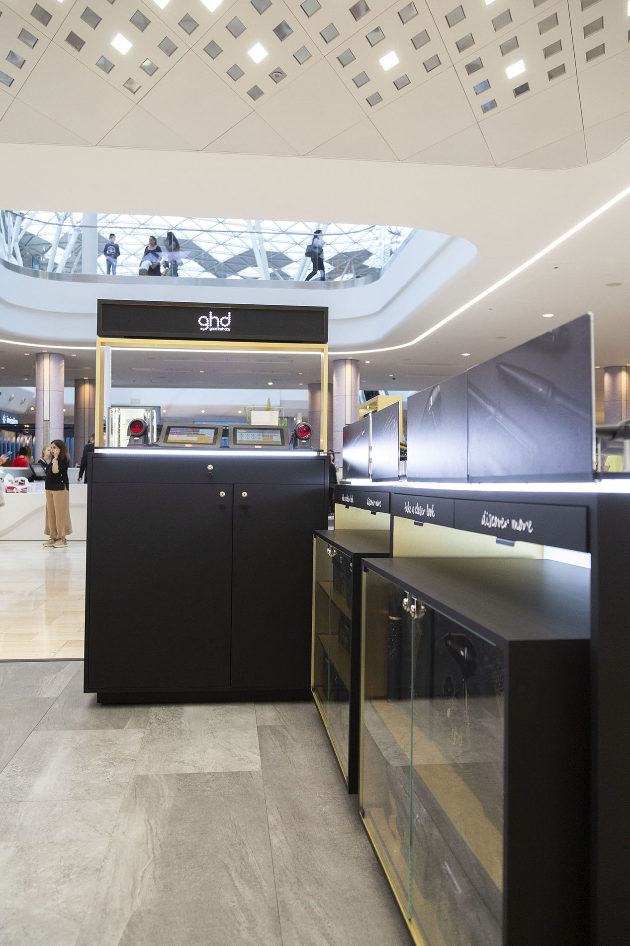 GHD new retail concept in westfield london