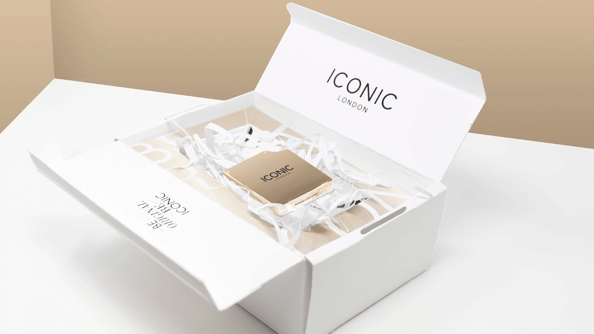 Iconic packaging design visual