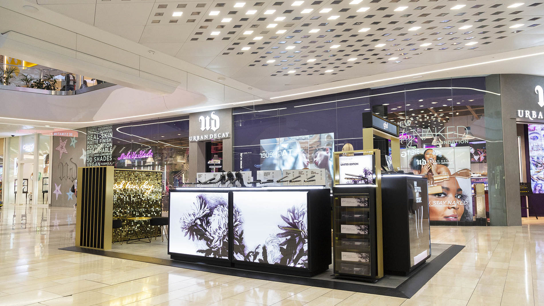GHD concession in Westfield London