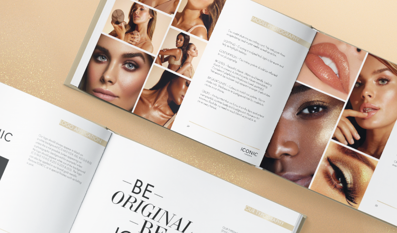Iconic beauty brand guidelines