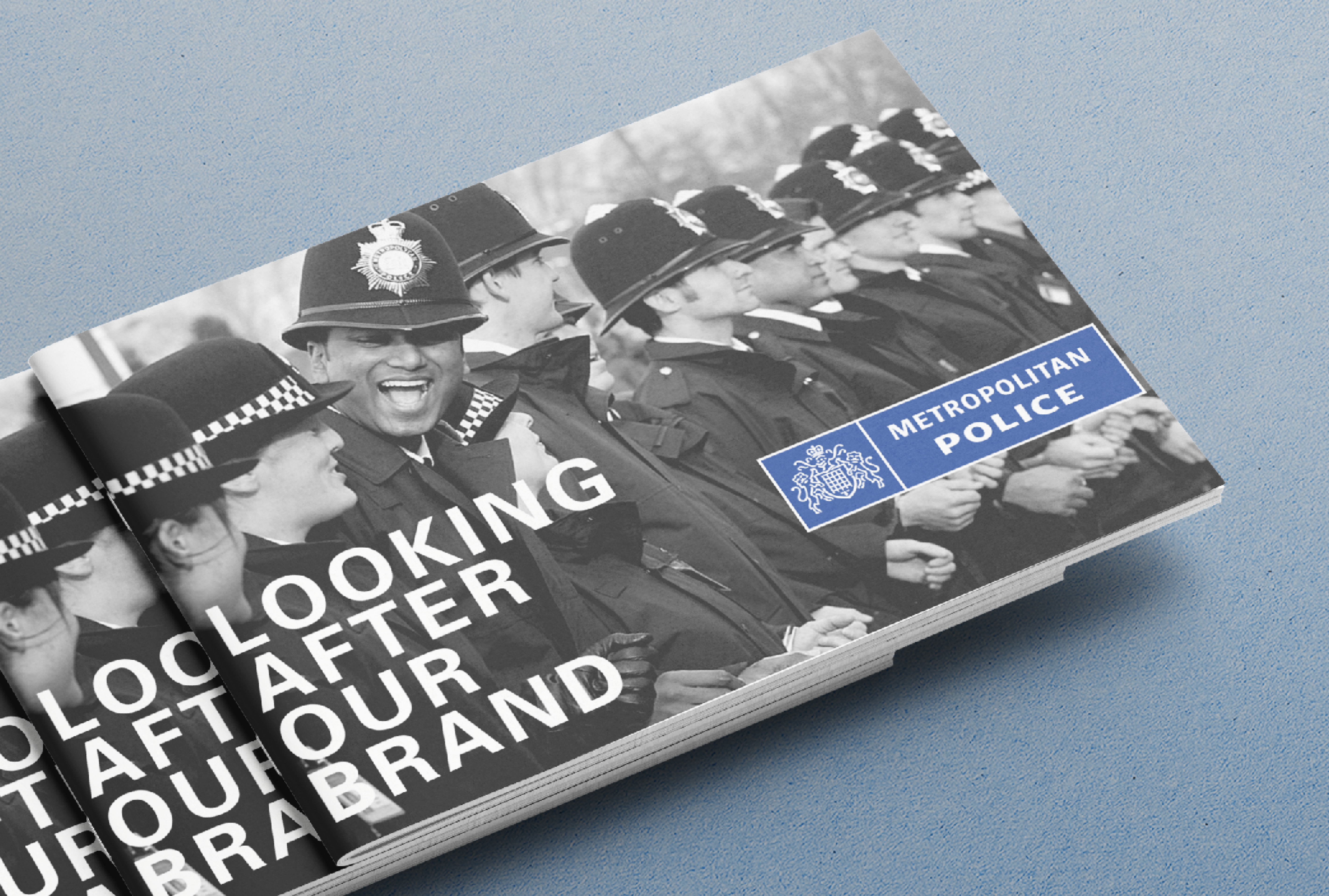 The Met Police brand guidelines cover