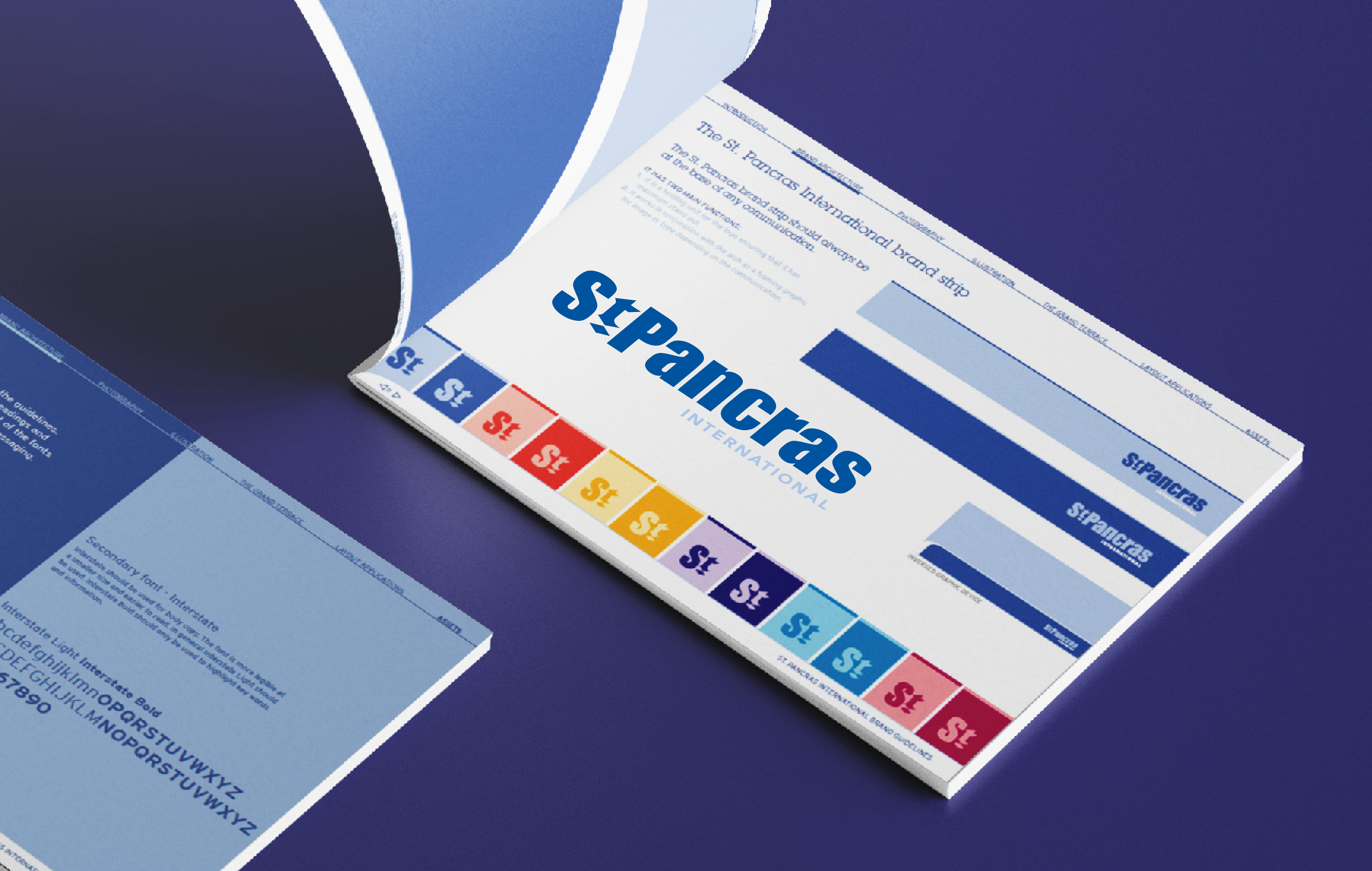 St Pancras brand guidelines cover