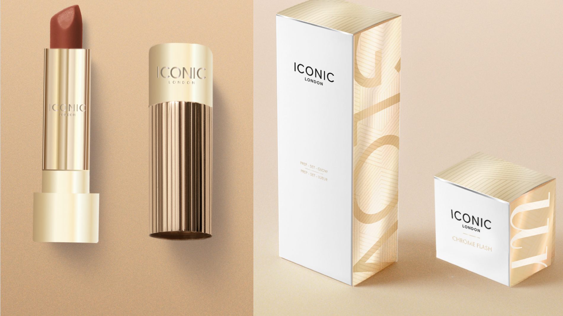 Iconic brand packaging