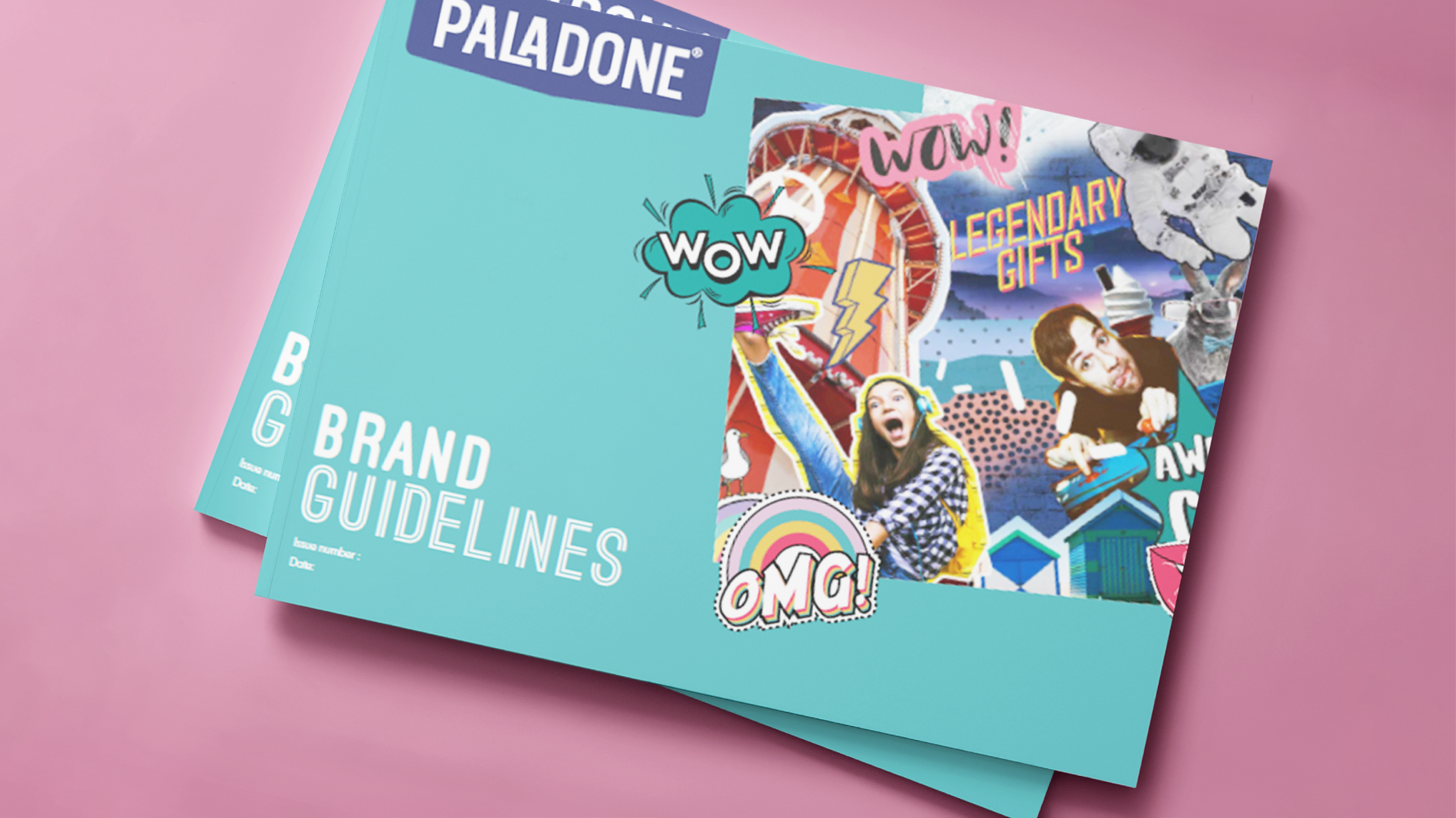 Paladone brand guidelines cover