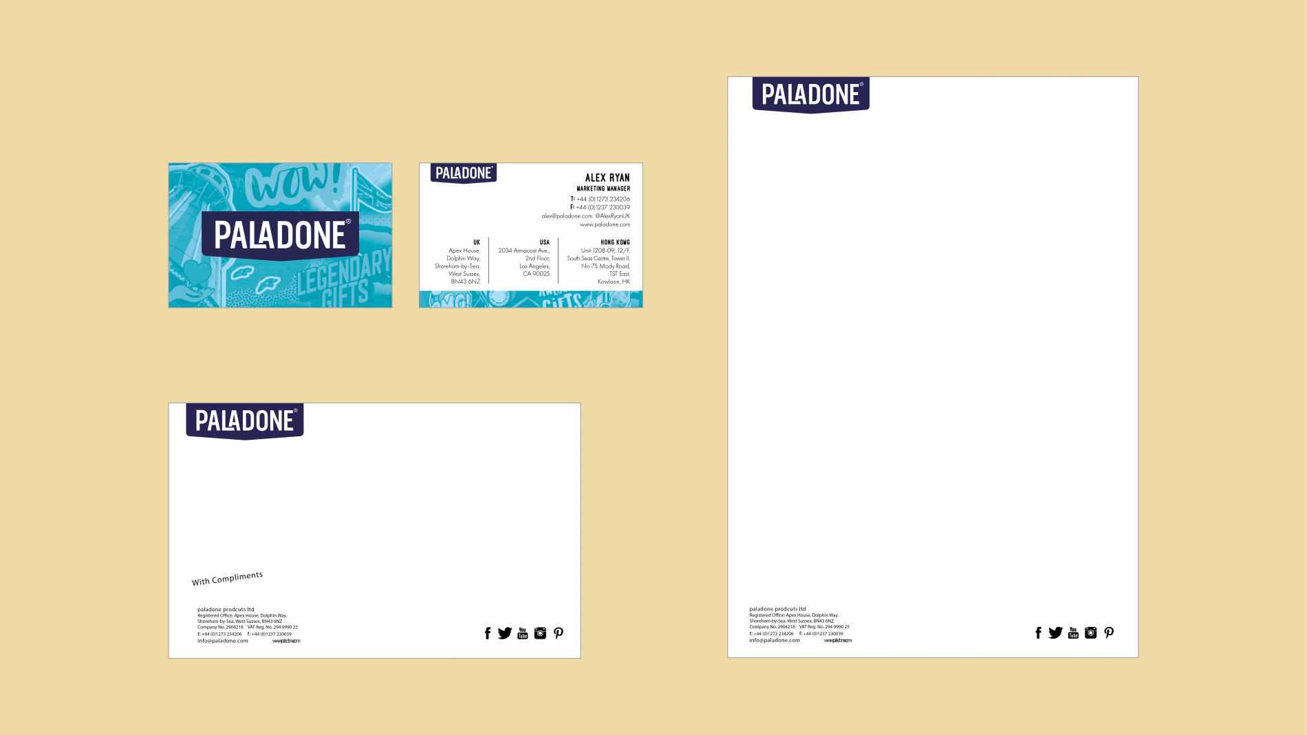 Paladone brand collateral