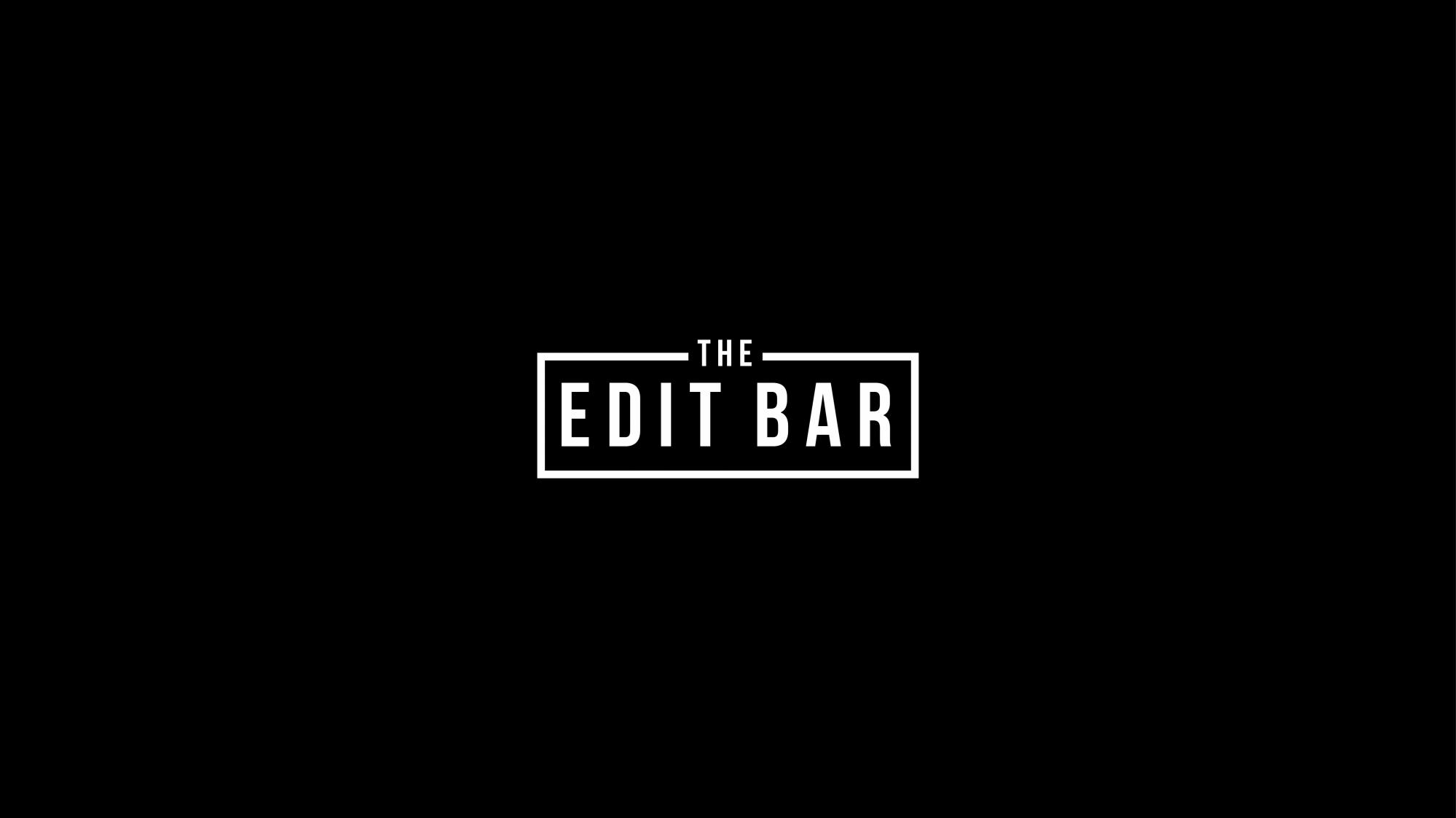 The Edit Bar logo